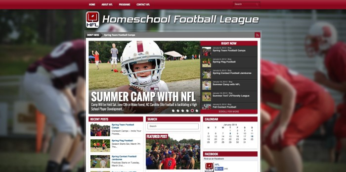 HOMESCHOOL FOOTBALL LEAGUE
