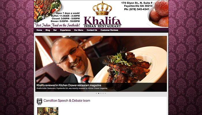 KHALIFA INDIAN RESTAURANT