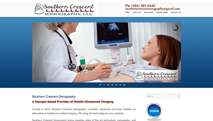 SOUTHERN CRESCENT SONOGRAPHY