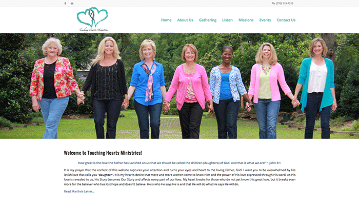 TOUCHING HEARTS MINISTRIES